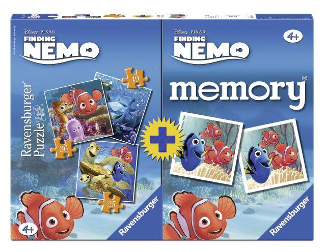 Joc memory cu puzzle,Nemo,25/36/49pcs