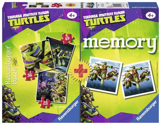 Joc memory cu puzzle,Ninja,25/36/49pcs