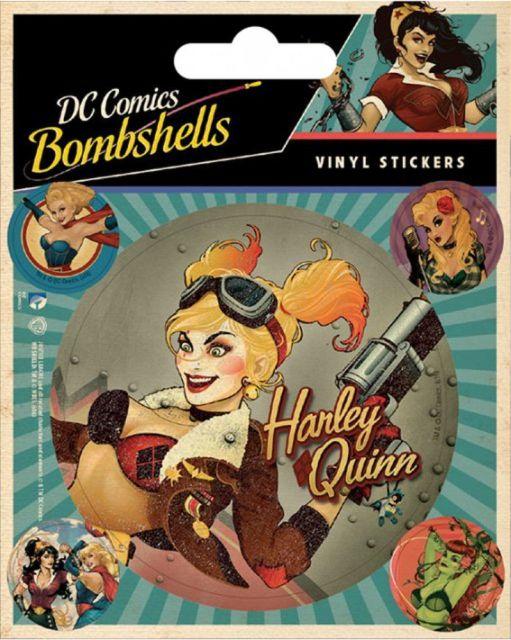 SET ABTIBILDURI 'DC COMICS BOMBSHELLS'