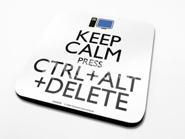 SUPORT PAHAR 'KEEP CALM ALT DELETE'