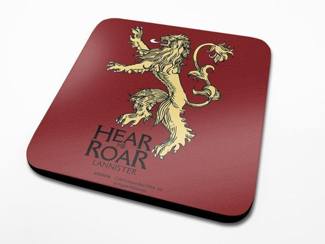 SUPORT PAHAR 'GAME OF THRONES (LANNISTER)'