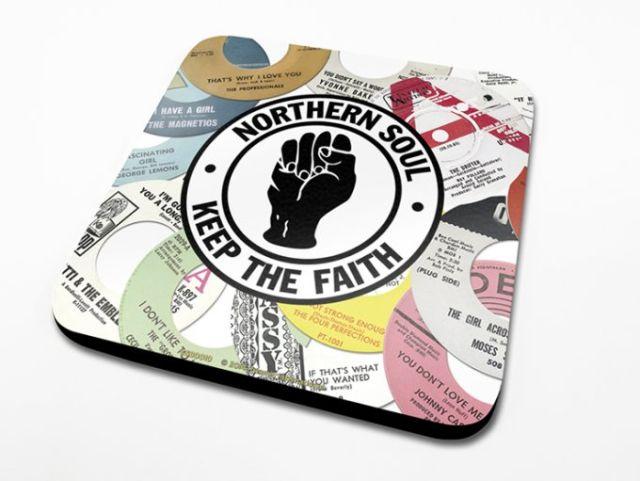 SUPORT PAHAR 'NORTHEN SOUL LABELS'