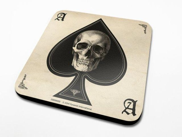 SUPORT PAHAR 'ACE OF SPADES'