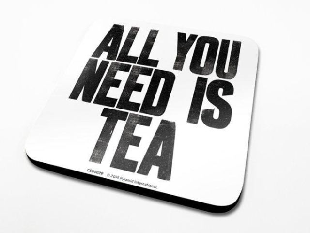 SUPORT PAHAR 'ALL YOU NEED IS TEA'