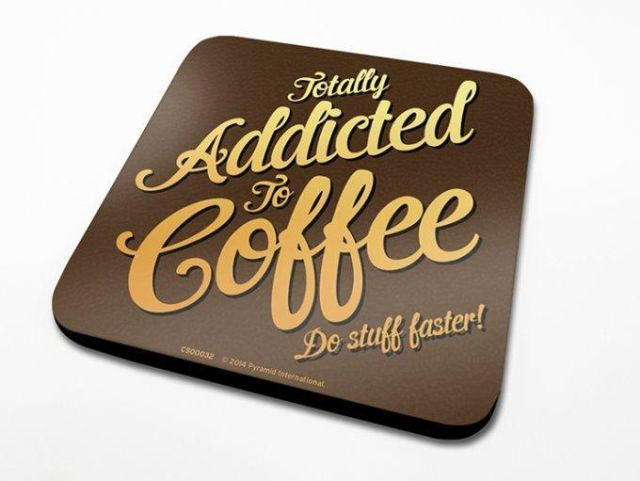 SUPORT PAHAR 'COFFEE ADDICT'