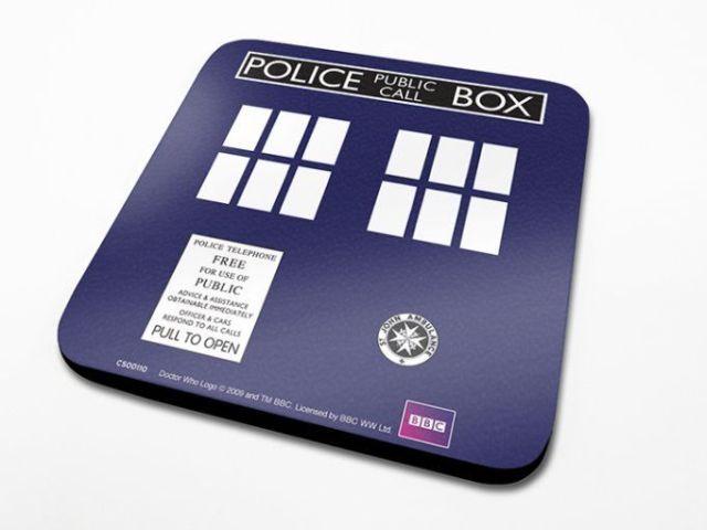SUPORT PAHAR 'DOCTOR WHO (TARDIS)'