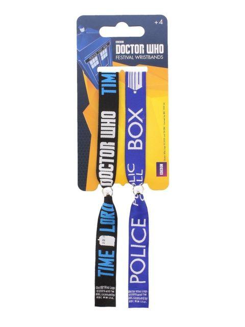 BRATARI TEXTILE 'DOCTOR WHO 1 (CALL BOX)'