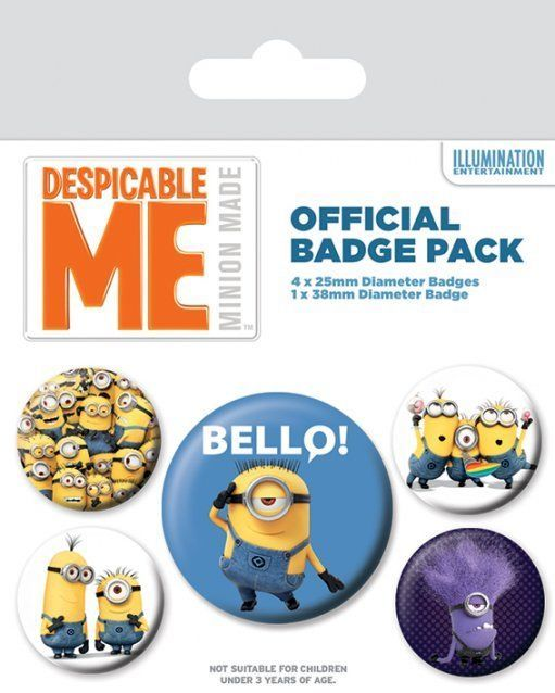 INSIGNE 'DESPICABLE ME (VARIETY)'