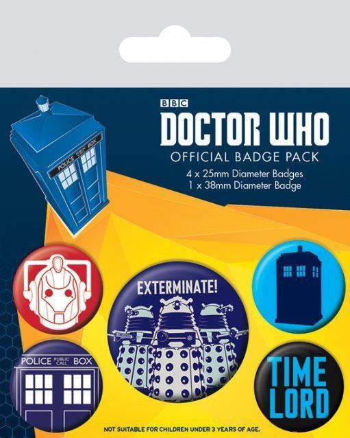 INSIGNE 'DOCTOR WHO (EXTERMINATE)'