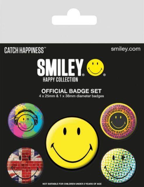 INSIGNE 'SMILEY (CLASSIC)'