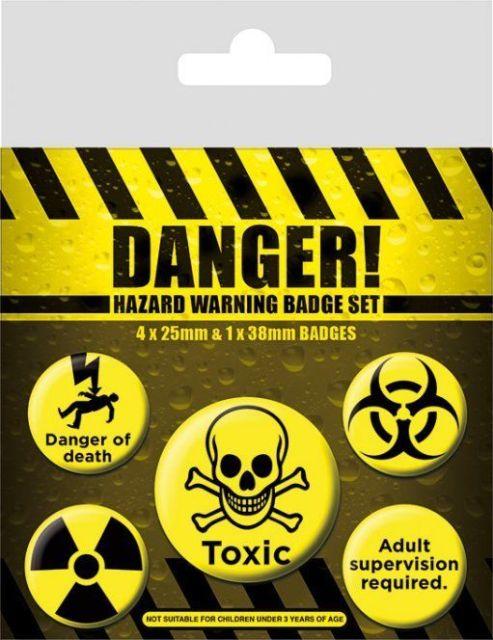 INSIGNE 'DANGER! (HAZARD WARNING)'