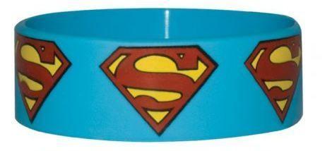 BRATARA SILICON 'SUPERMAN (LOGO REPEAT)'
