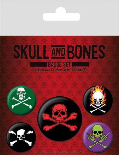 INSIGNE 'SKULL AND BONES'