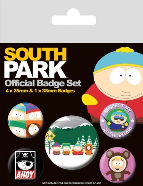 INSIGNE 'SOUTH PARK BADGE SET'