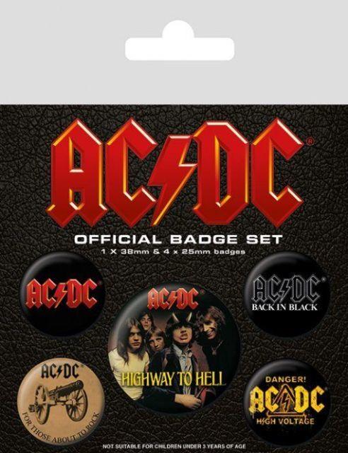 INSIGNE 'AC/DC'