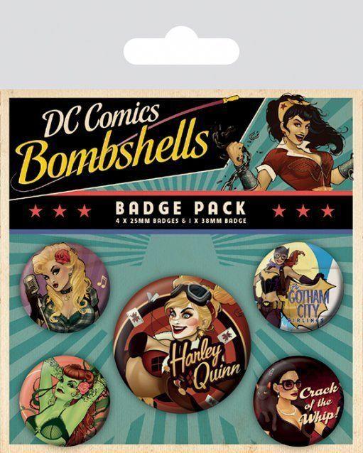 INSIGNE 'DC COMICS (BOMBSHELLS)'