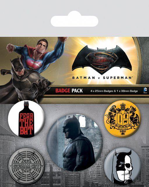 INSIGNE 'BATMAN V SUPERMAN (BATMAN)'