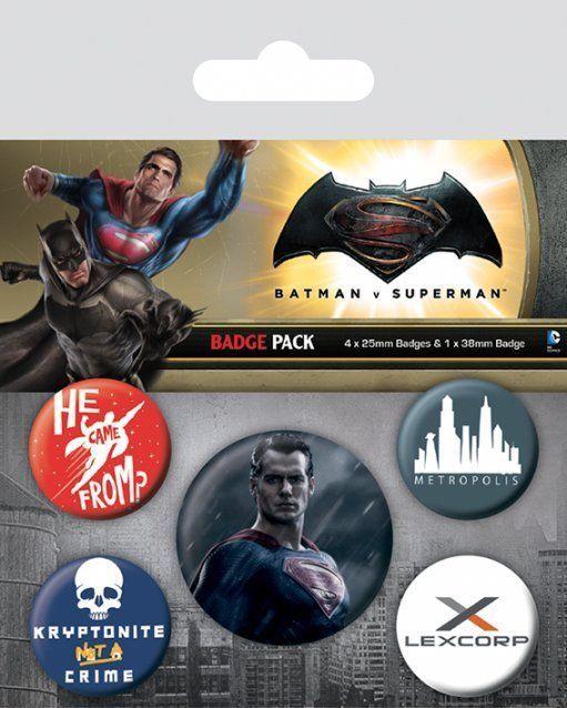 INSIGNE 'BATMAN V SUPERMAN (SUPERMAN)'