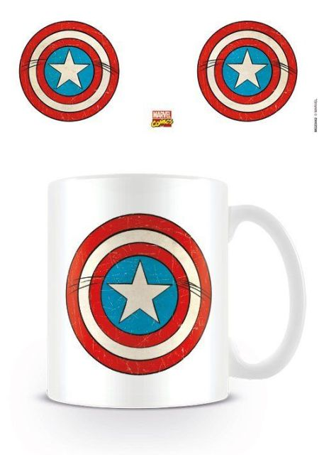 CANA 'MARVEL RETRO (CAPTAIN AMERICA SHIELD)'