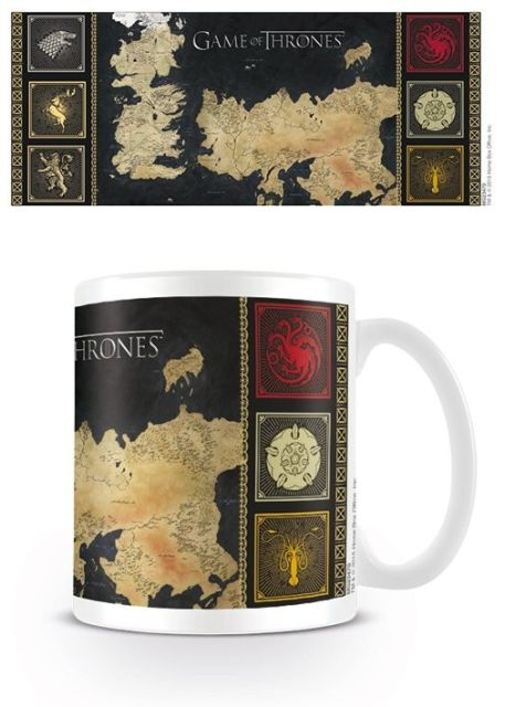 CANA 'GAME OF THRONES (MAP)'