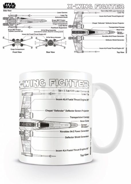 CANA 'STAR WARS (X-WING FIGHTER SKETCH)'