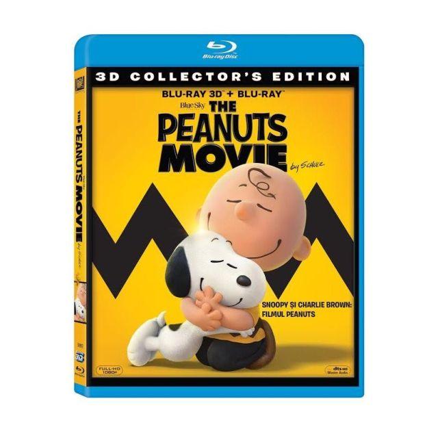 BD: PEANUTS MOVIE - SNOOPY&C. BROWN: FILMUL PEANUTS 3D+2D