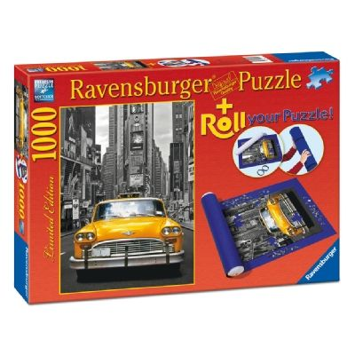 PUZZLE NEW YORK TAXI, 1000 PIESE + SUPORT PT RULAT