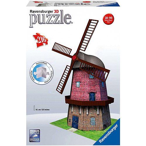 PUZZLE 3D MOARA DE VANT, 216 PIESE