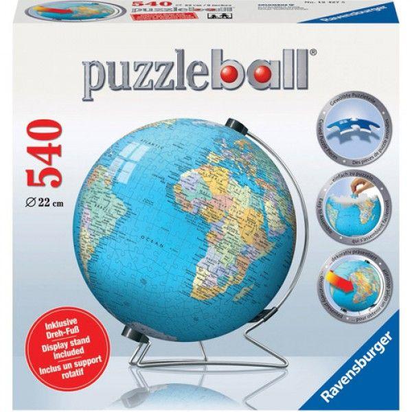 PUZZLE 3D GLOBUL LUMII, 540 PIESE
