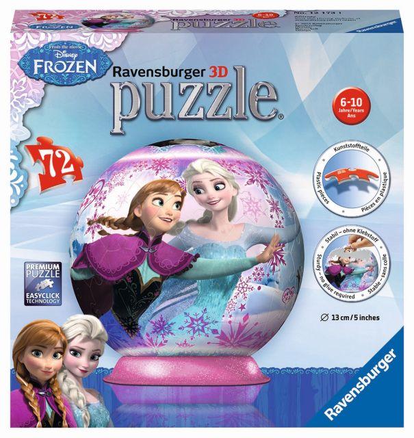 Puzzle 3D Frozen,72pcs