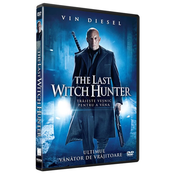 BD: LAST WITCH HUNTER DVD - Ultimul vanator de vrajitoare