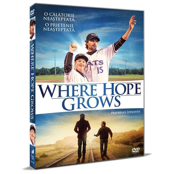 WHERE HOPE GROWS DVD - Pastreaza Speranta