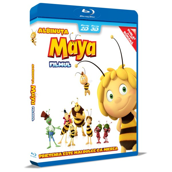 BD: Maya the bee Movie - Albinuta Maya, Filmul 2D+3D