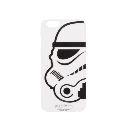 Carcasa iPhone Stormtrooper, alb
