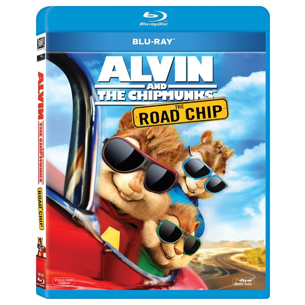BD: ALVIN AND THE CHIPMUNKS: THE ROAD CHIP - MAREA AVENTURA