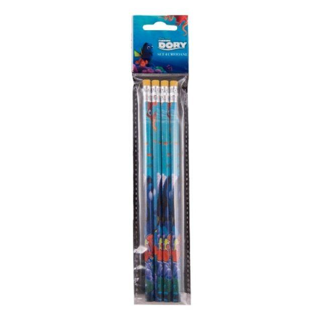 Creioane grafit,4/blister,Finding Dory