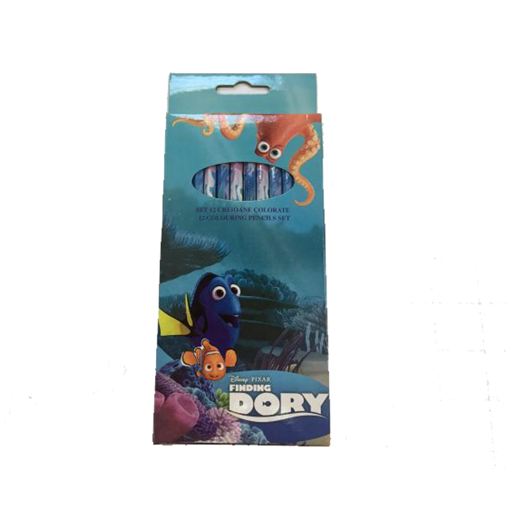 Creioane colorate 12buc/set,Finding Dory