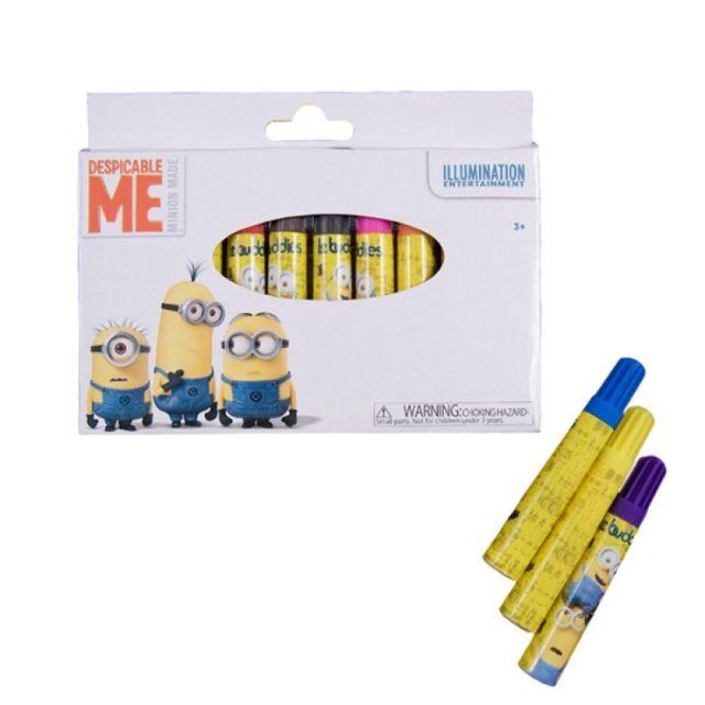 Markere copii,10b/cutie carton,Minions