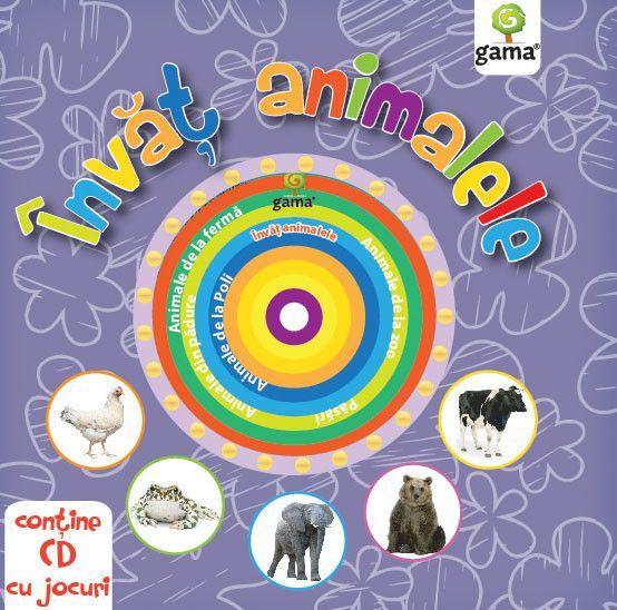 INVAT ANIMALELE. CARTI EDUCATIVE CU CD. 2016