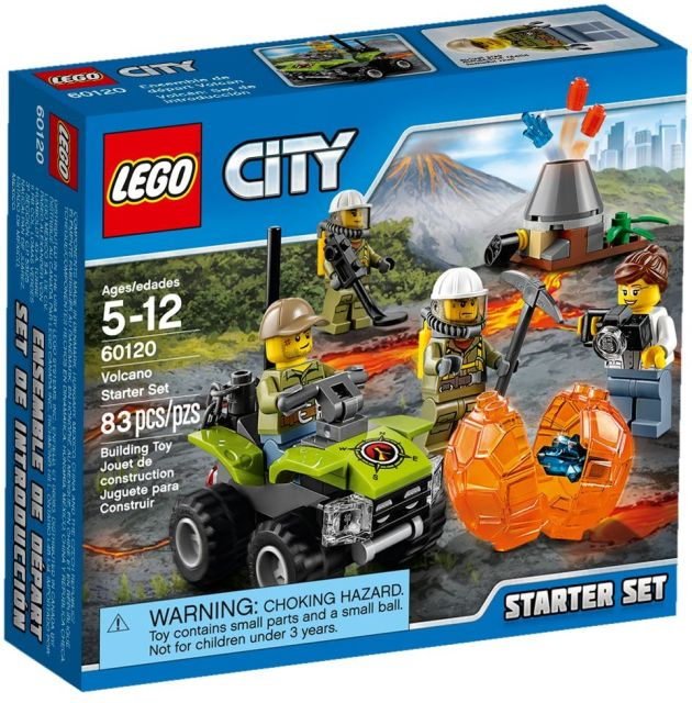 Lego-City,Set pentru incepatori,Vulcanul