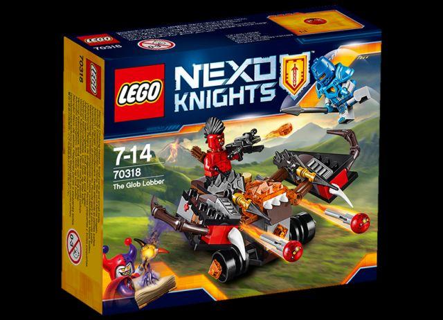 Lego-Nexo Knights,Catapulta