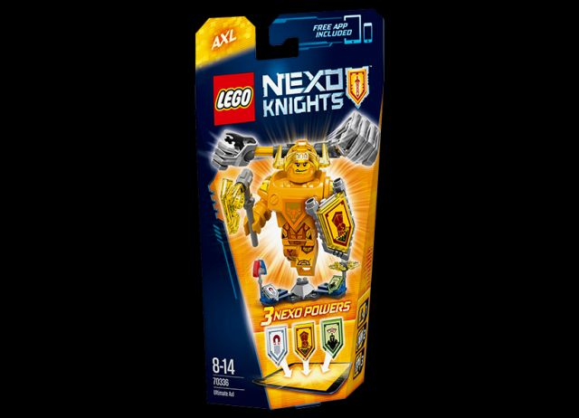 Lego-Nexo Knights,Supremul Axl