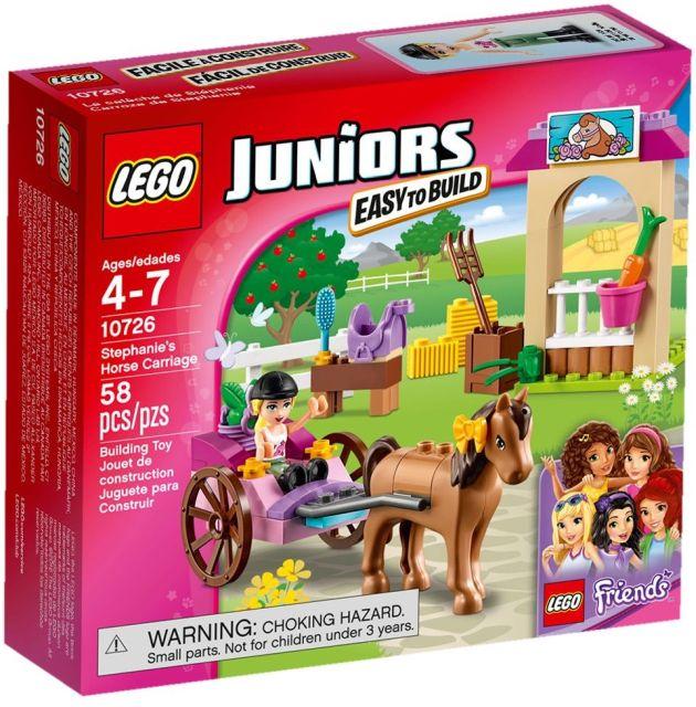 Lego-Juniors,Trasura cu cai a...
