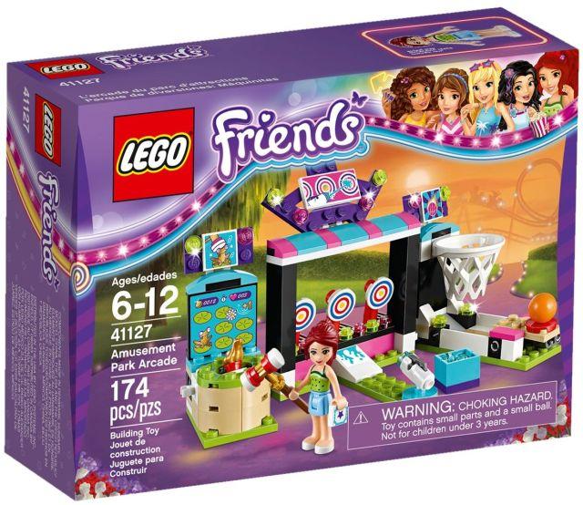 Lego-Friends,Sala de jocuri electronice din parcul de distractii