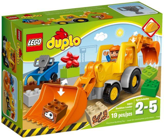 Lego-Duplo,Incarcator-excavator
