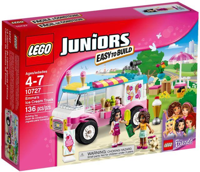 Lego-Juniors,Furgoneta cu inghetata a Emmei