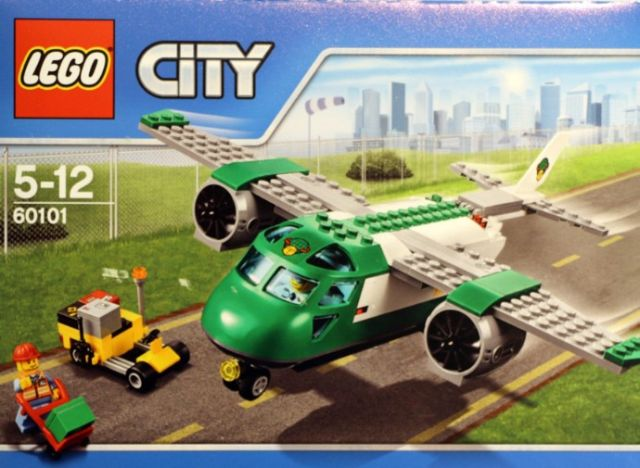 Lego-City,Avion de marfa pe...