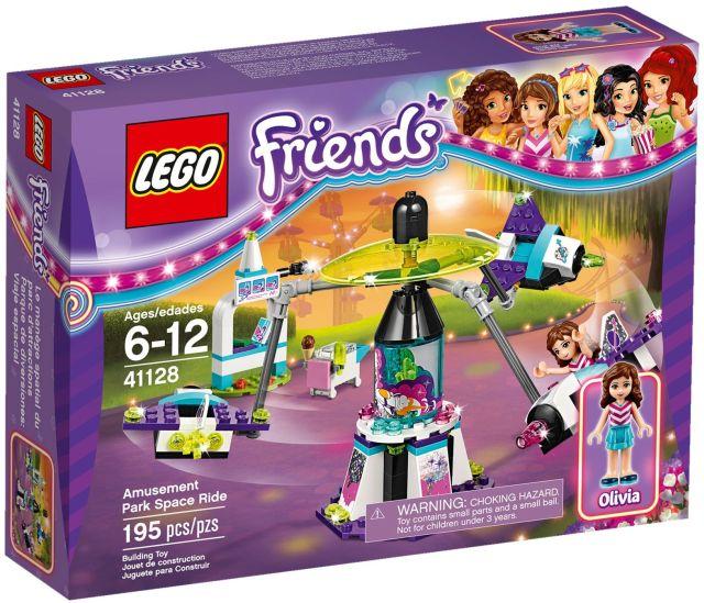 Lego-Friends,Calatorie spatiala in parcul de distractii