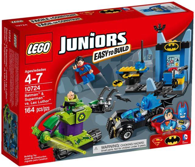 Lego-Juniors,Batman si Superman contra Lex Luthor