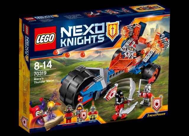 Lego-Nexo Knights,Buzduganul Tunet al lui Macy